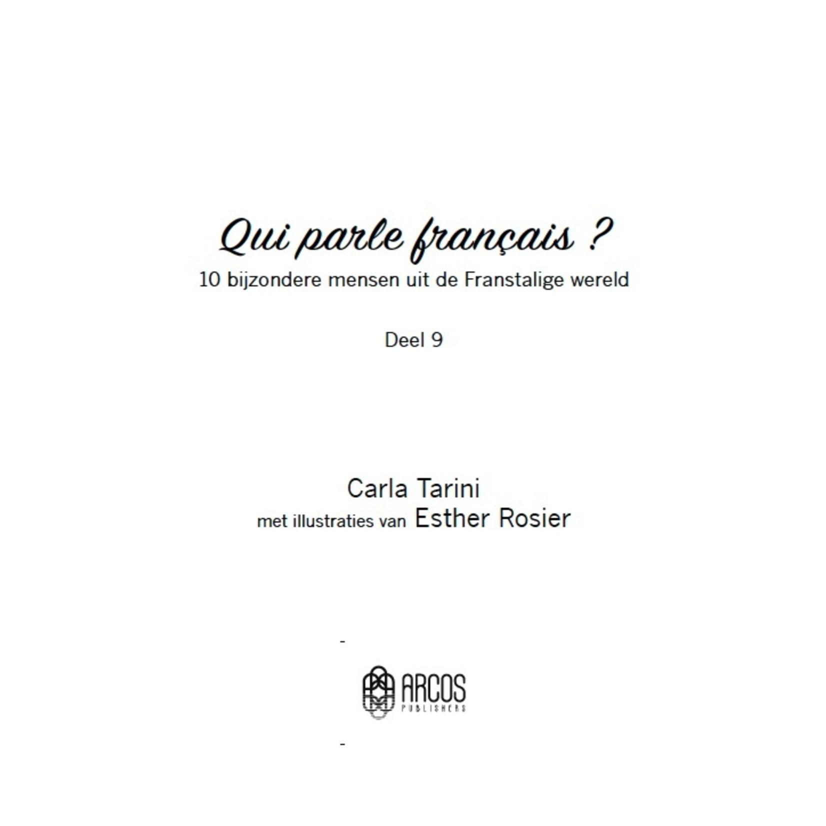 Arcos Publishers Qui parle français ? Deel 9 (French-Dutch)