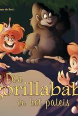 Een gorillababy in het paleis