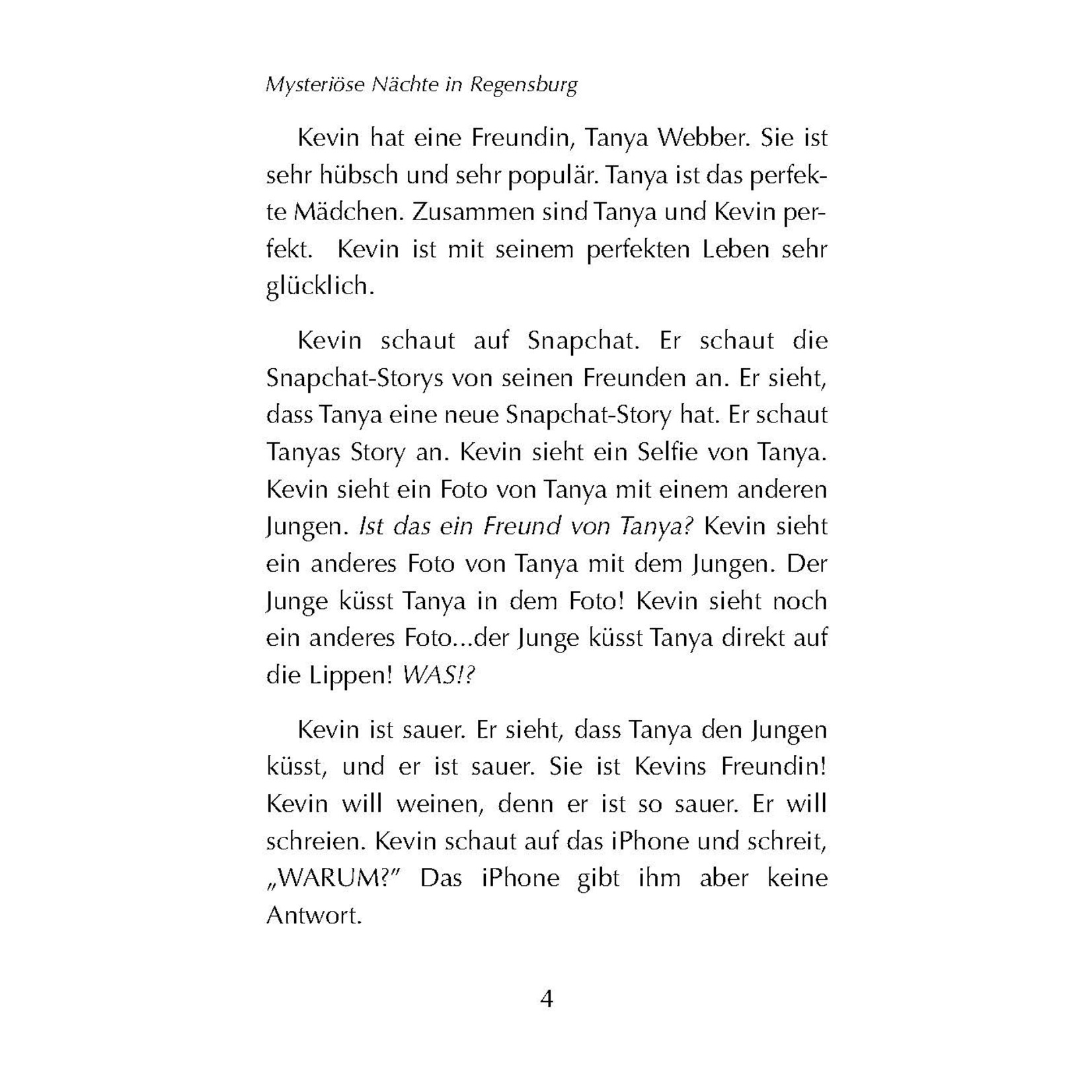 Fluency Matters Mysteriöse Nächte in Regensburg