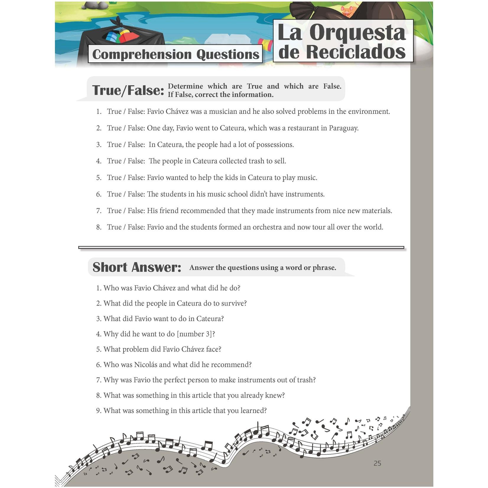 TPRS Books Spanish 1 - Look, I Can Talk! Werkboek