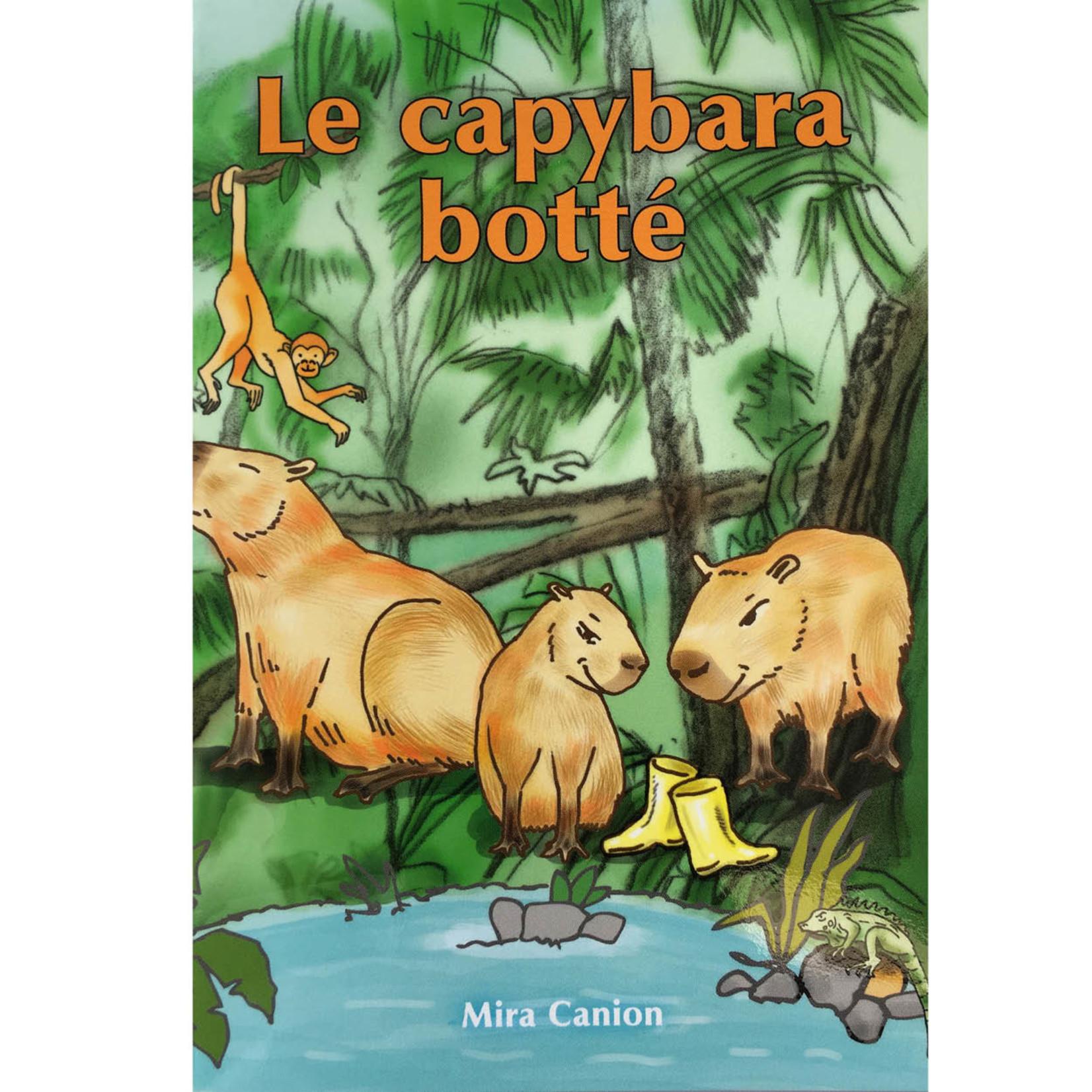 Mira Canion Le capybara botté