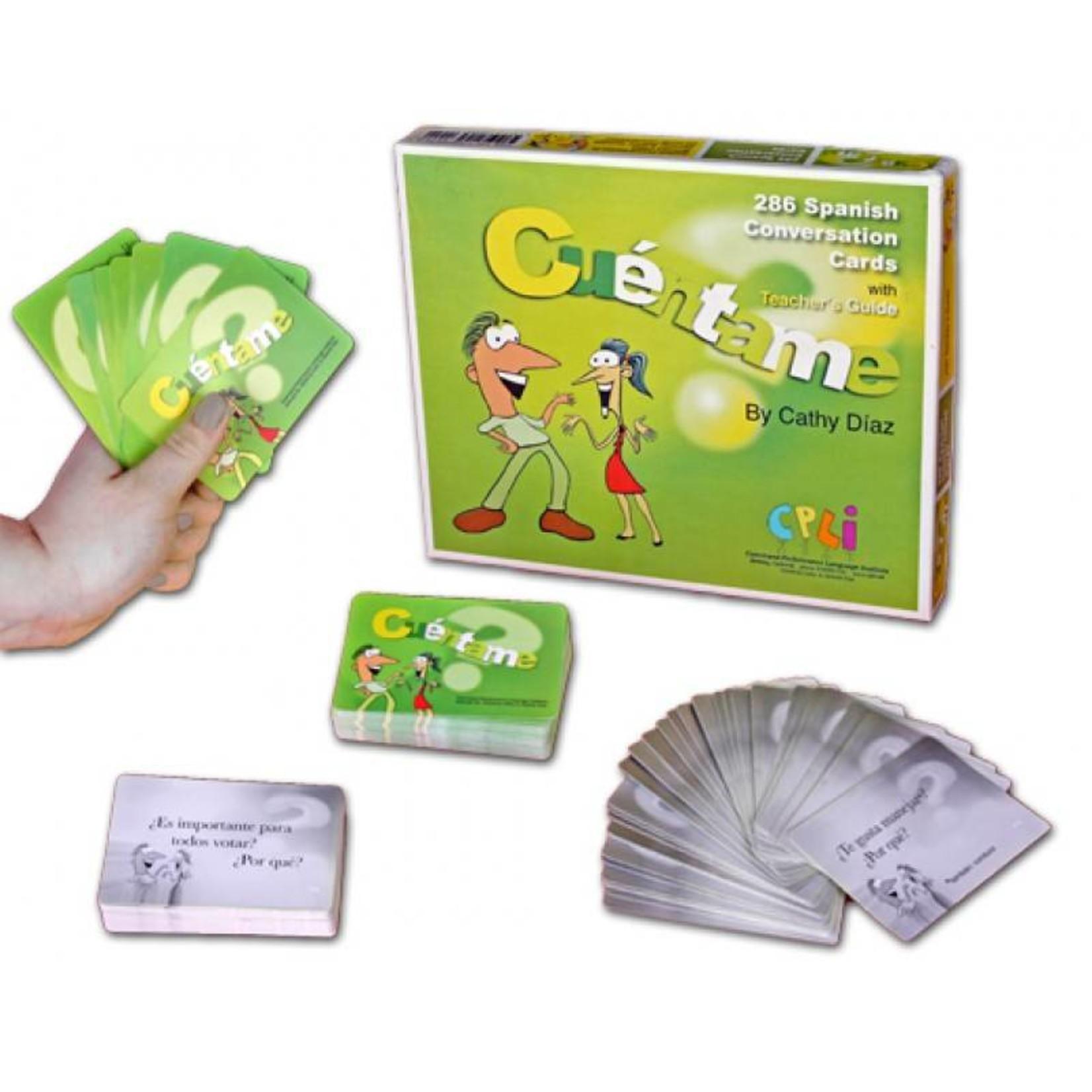 Command Performance Books Cuéntame: 286 Spanish Conversation Cards