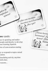 Cuéntame: 286 Spanish Conversation Cards