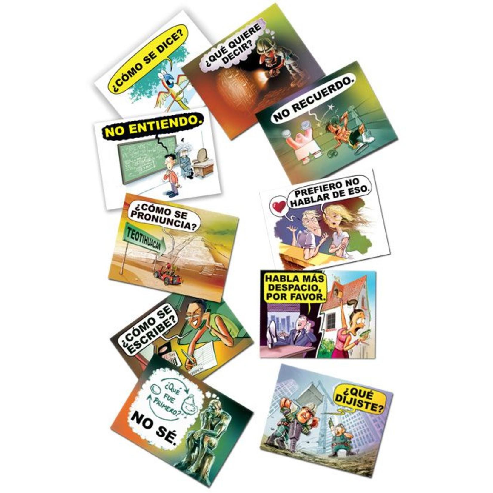 Command Performance Books Spaanse Conversatieposters