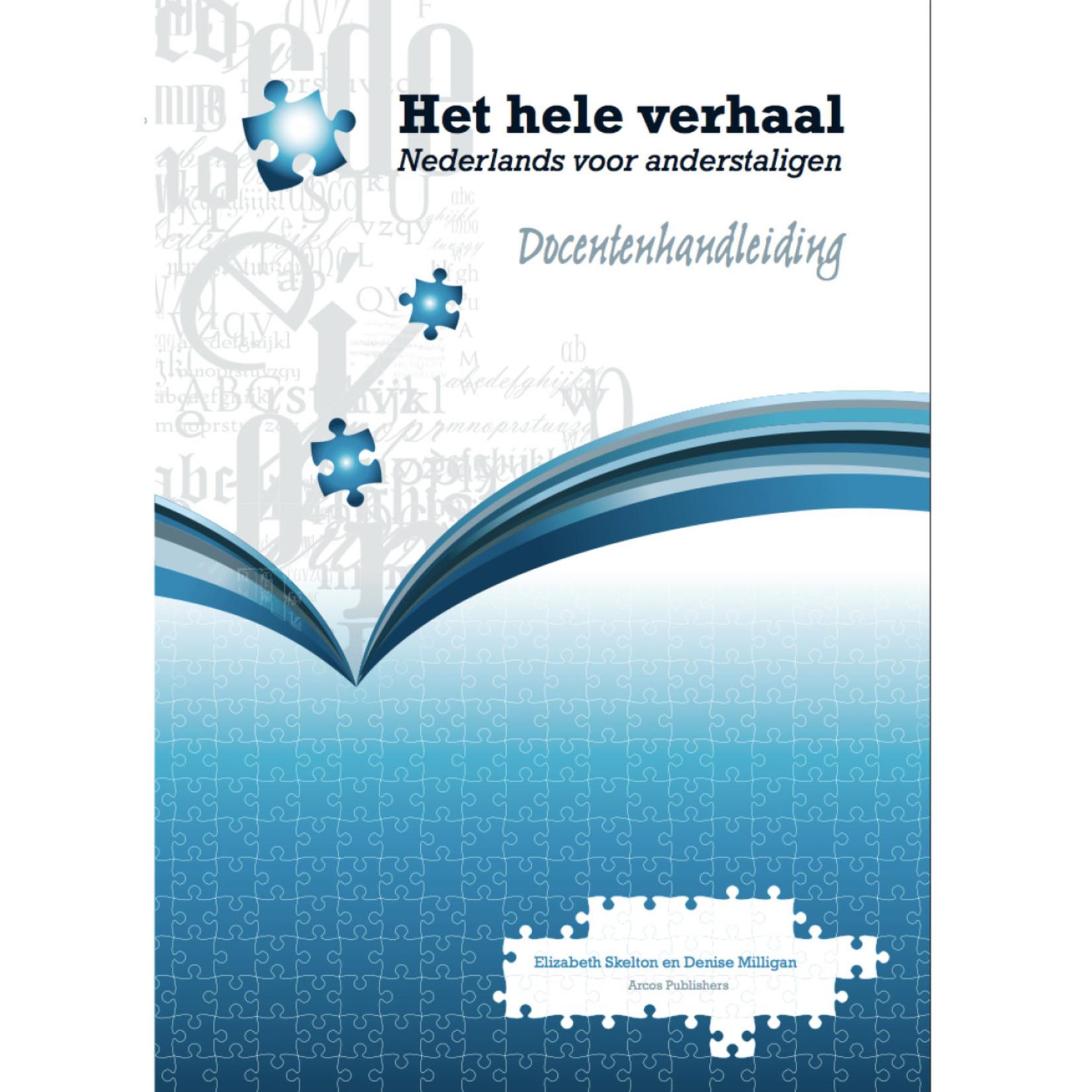 Arcos Publishers Het hele verhaal - Docentenhandleiding