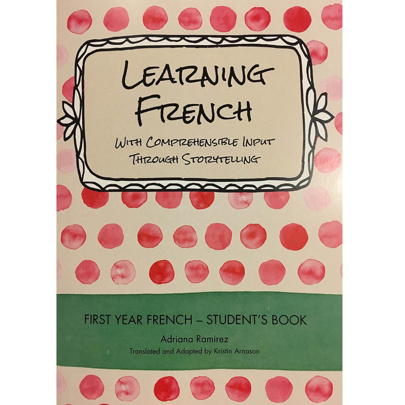 Adriana Ramirez Learning French - Level 1