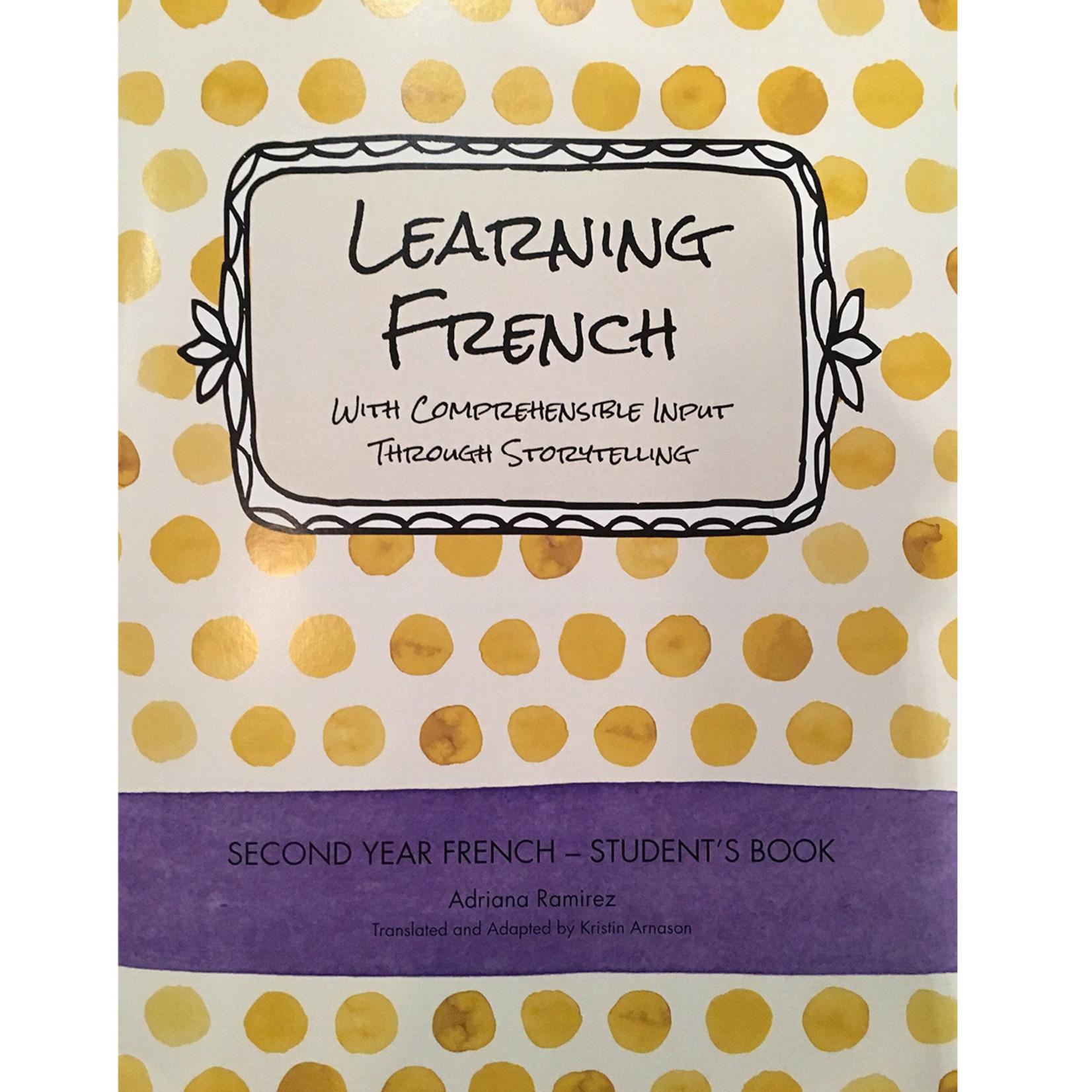 Adriana Ramirez Learning French - Level 2