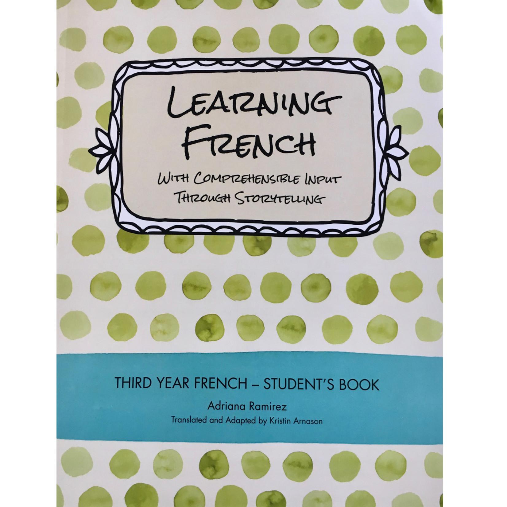 Adriana Ramirez Learning French level 3
