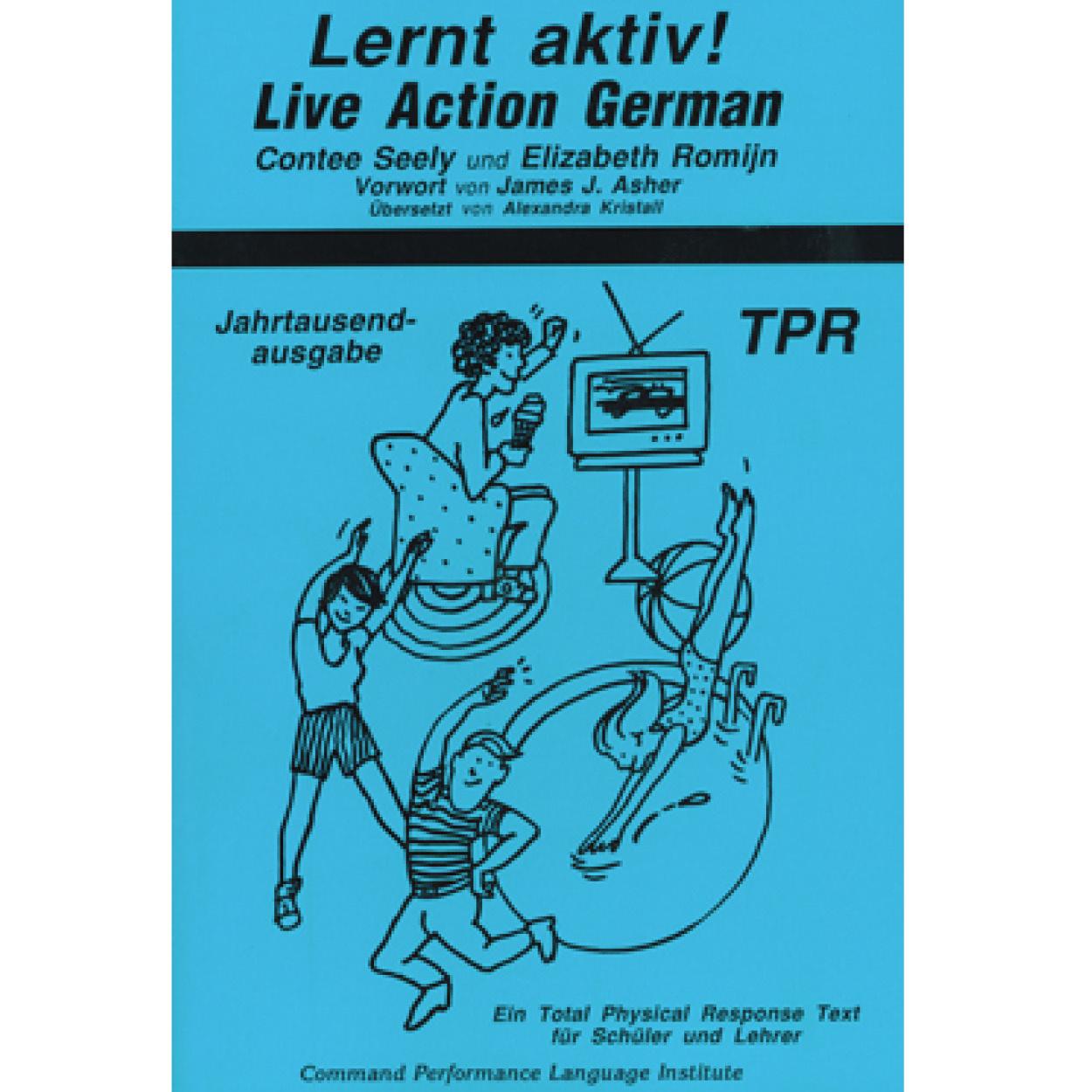 Lernt aktiv! Live action German!