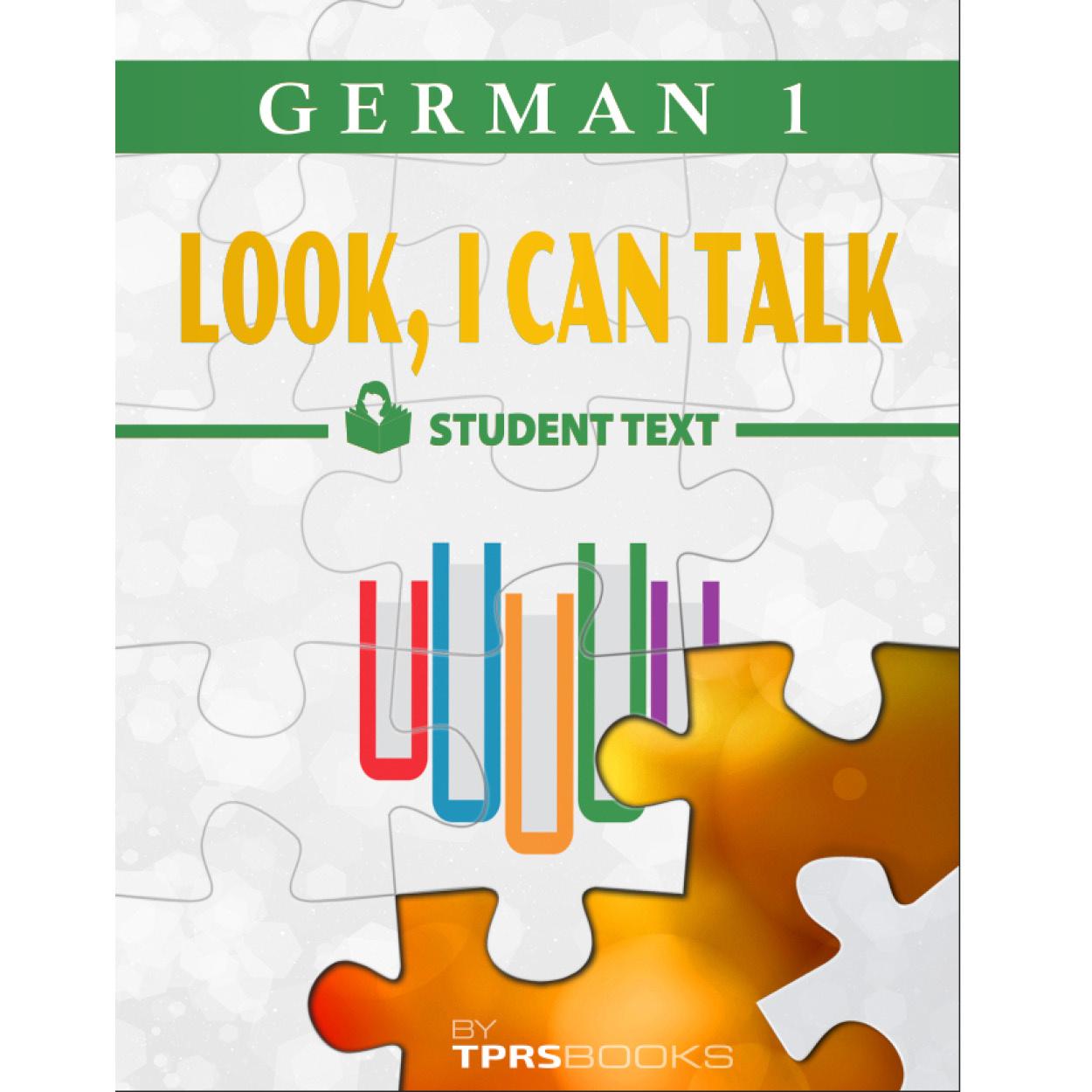 Duits 1 -  Look, I Can Talk! Werkboek