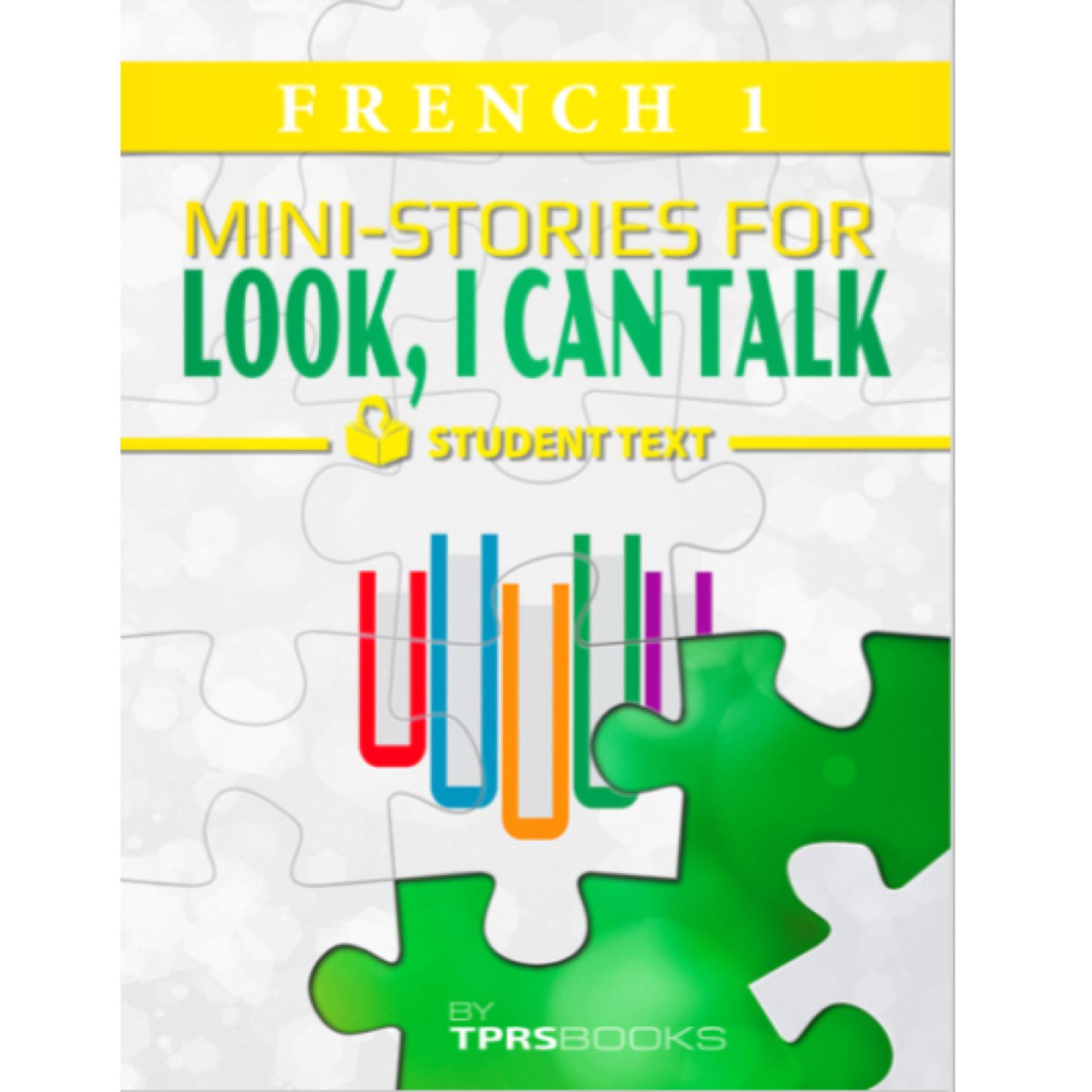 TPRS Books Frans 1 - Look, I can talk! Werkboek