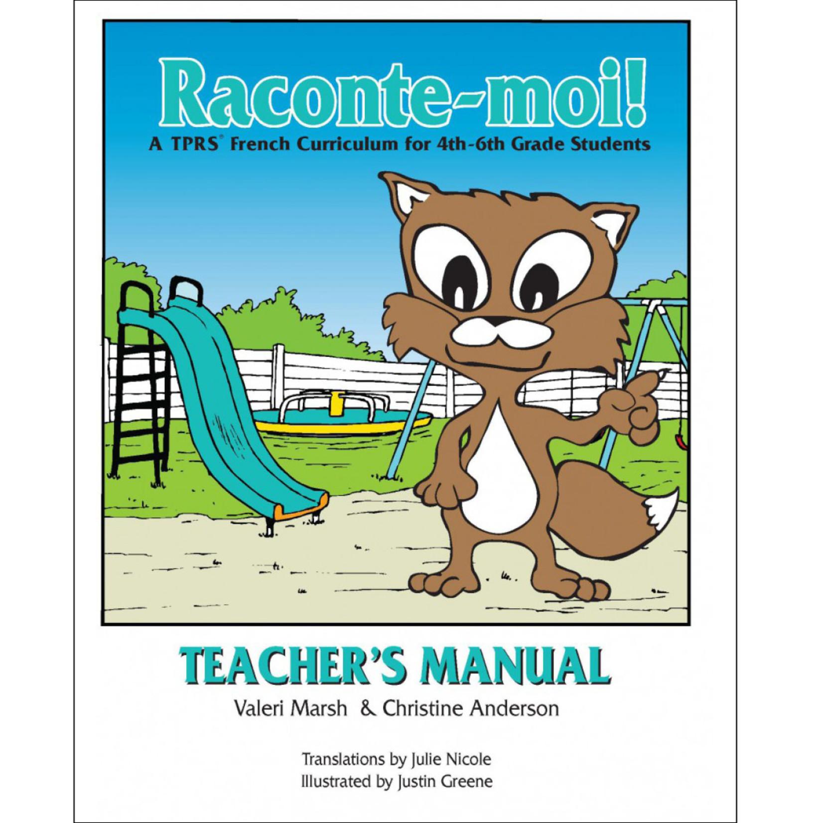 Fluency Matters Raconte-moi! Teacher's Manual