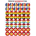 Taalbijdehand Franse stickers