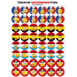 Taalbijdehand French stickers