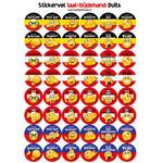 Taalbijdehand German stickers