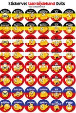 Duitse stickers
