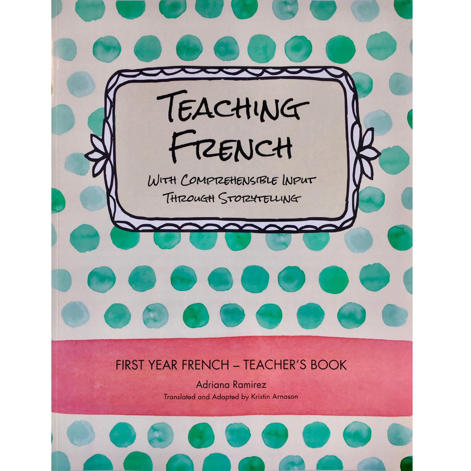 Adriana Ramirez Teaching French - Level 1