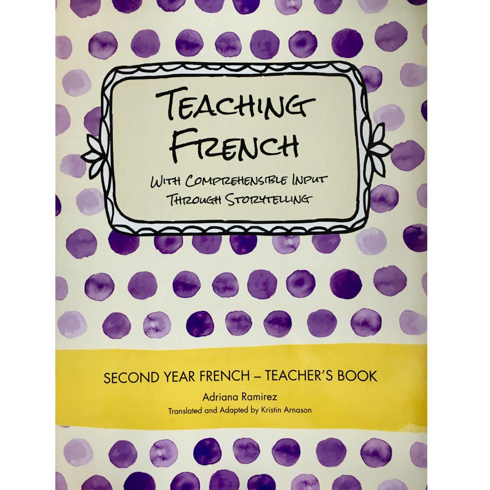 Adriana Ramirez Teaching French _ Level 2