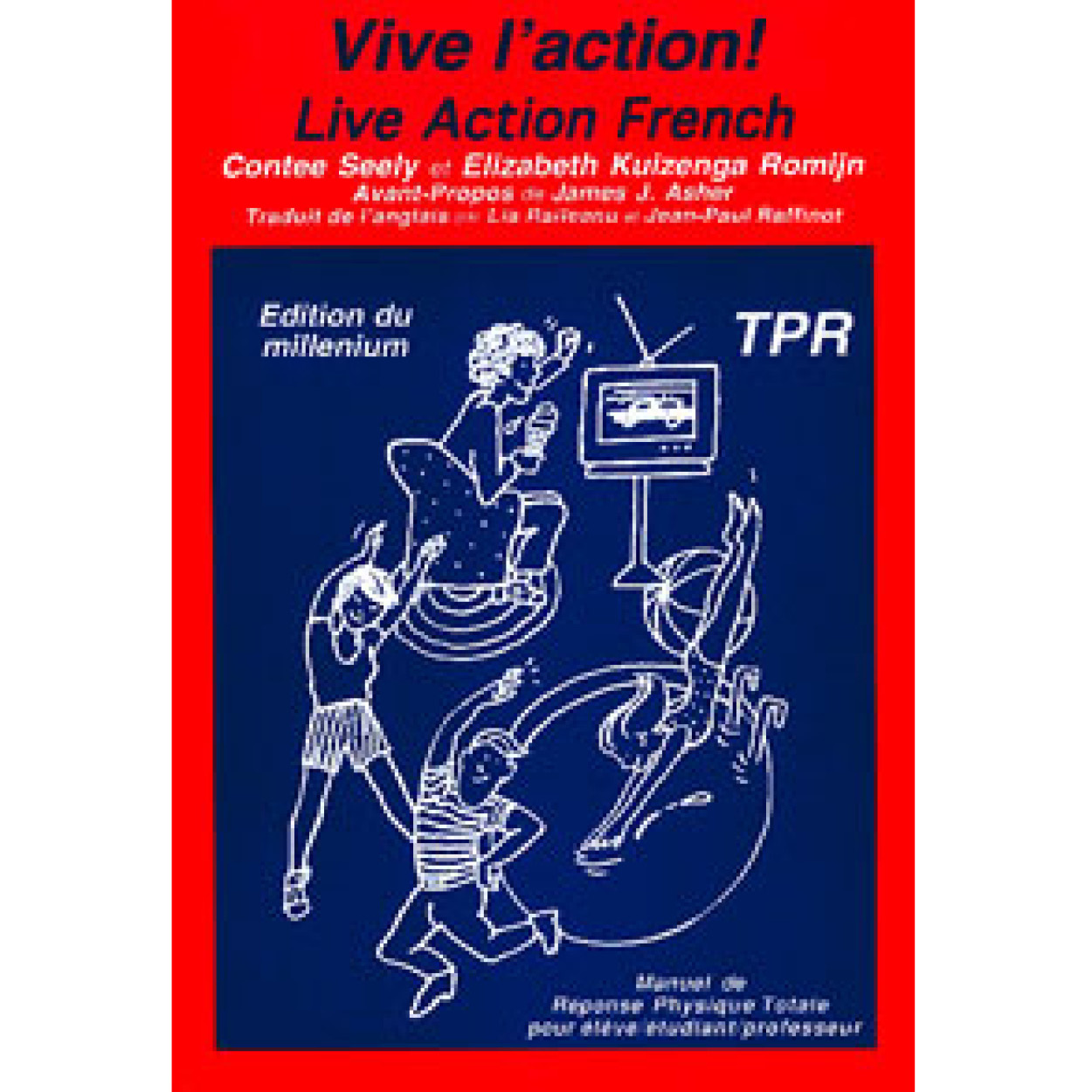 Vive l'action! Live action French!