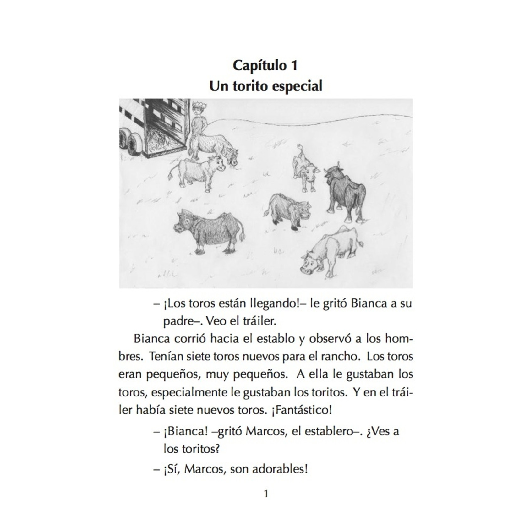 Fluency Matters Bianca Nieves y los 7 toritos