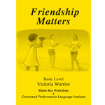 Command Performance Books Friendship matters