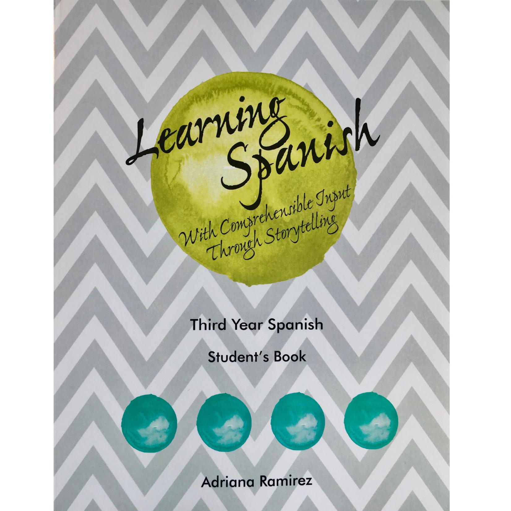 Adriana Ramirez Learning Spanish - Level 3