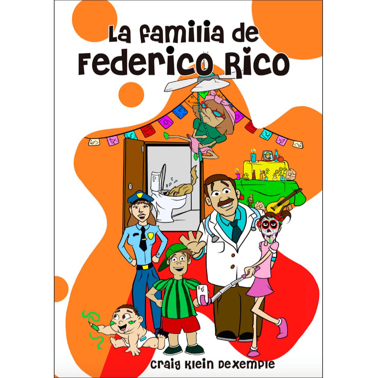 La familia de Federico Rico