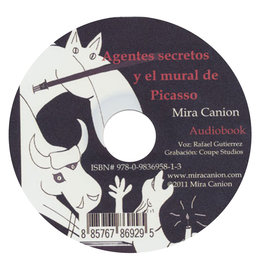 Agentes secretos y el mural de Picasso - audio book