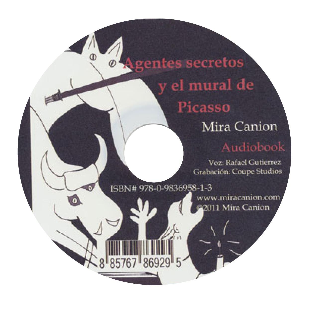 Agentes secretos y el mural de Picasso - Luisterboek