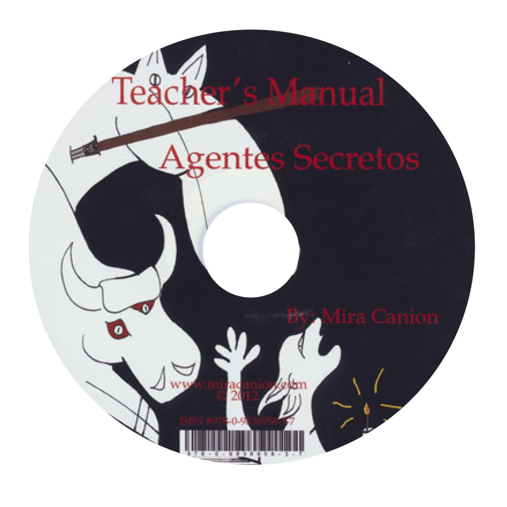 Mira Canion Agentes secretos y el mural de Picasso - Docentenhandleiding