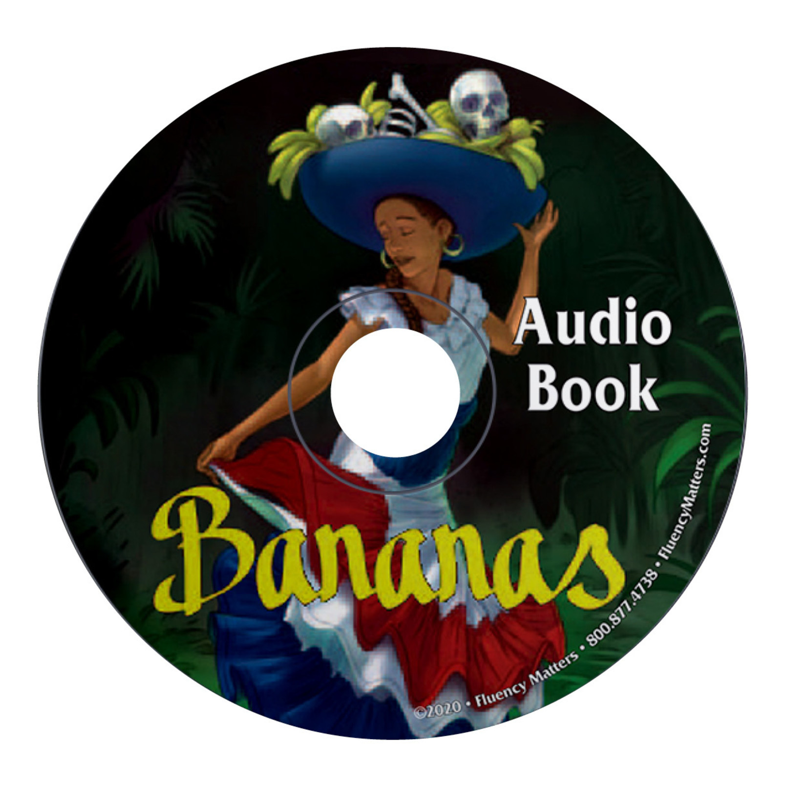 Fluency Matters Bananas - Audiobook