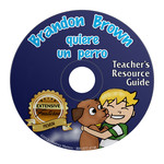 Fluency Matters Brandon Brown quiere un perro - Teacher's Guide on CD
