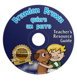 Brandon Brown quiere un perro - Teacher's Guide on CD