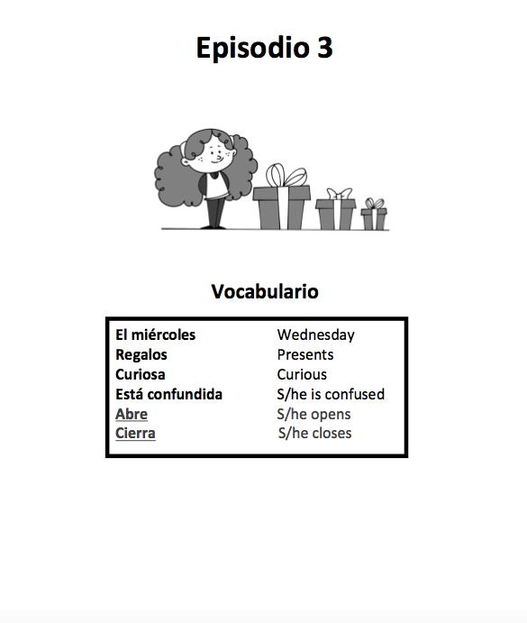 La piñata de Renata - Workbook