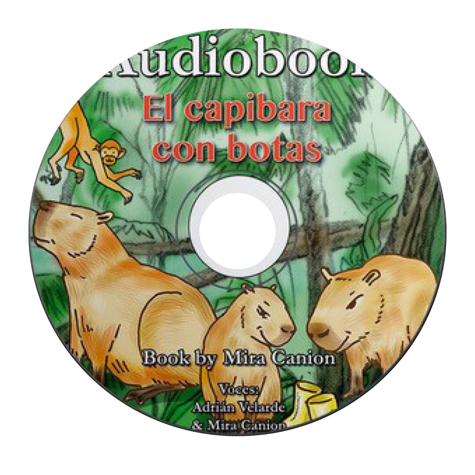 Mira Canion El Capibara con Botas - Audiobook