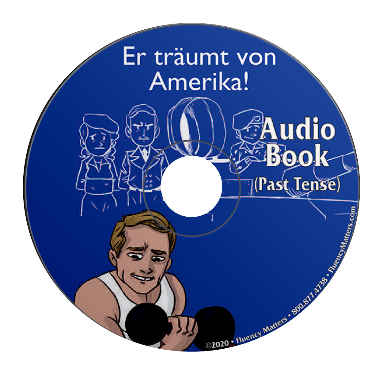 Er träumt von Amerika - Audio Book