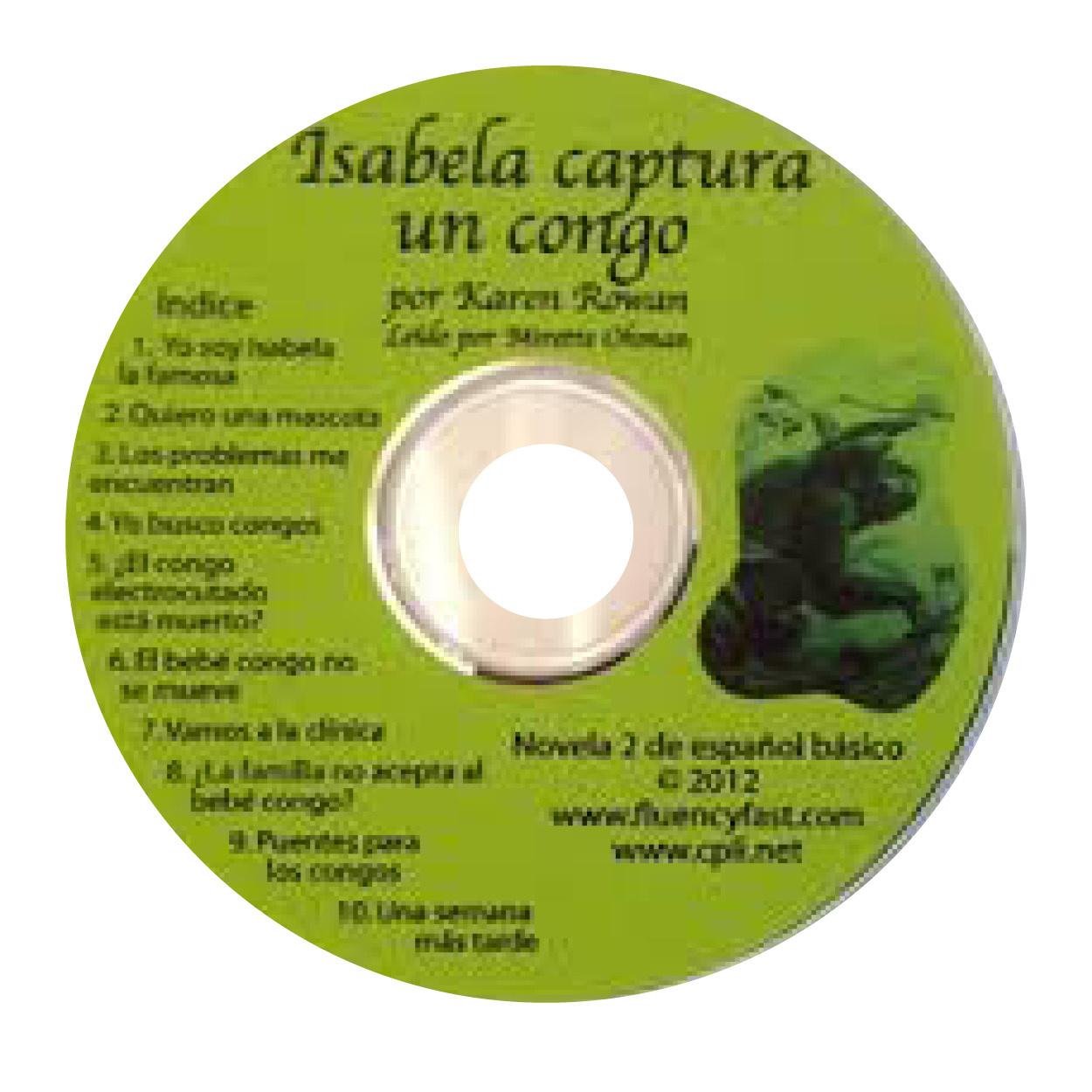 Isabela captura un congo - Luisterboek