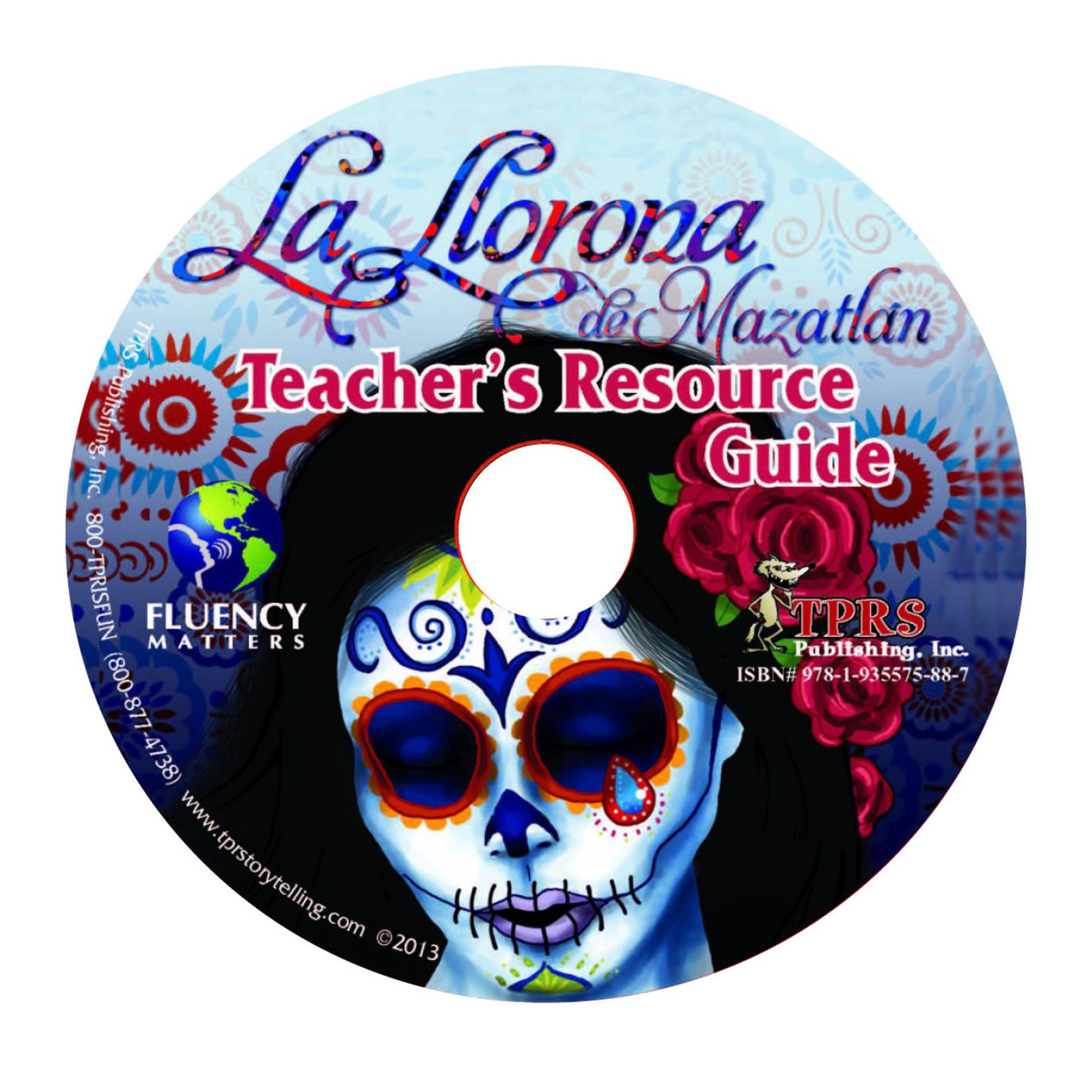 Fluency Matters La Llorona de Mazatlán - Teacher's Guide on CD
