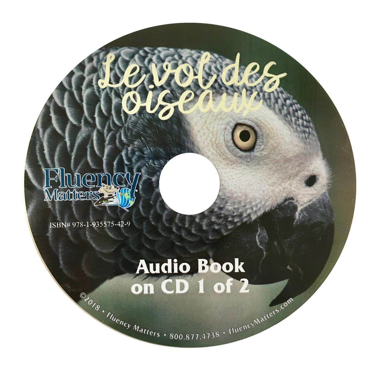 Le vol des oiseaux - Luisterboek