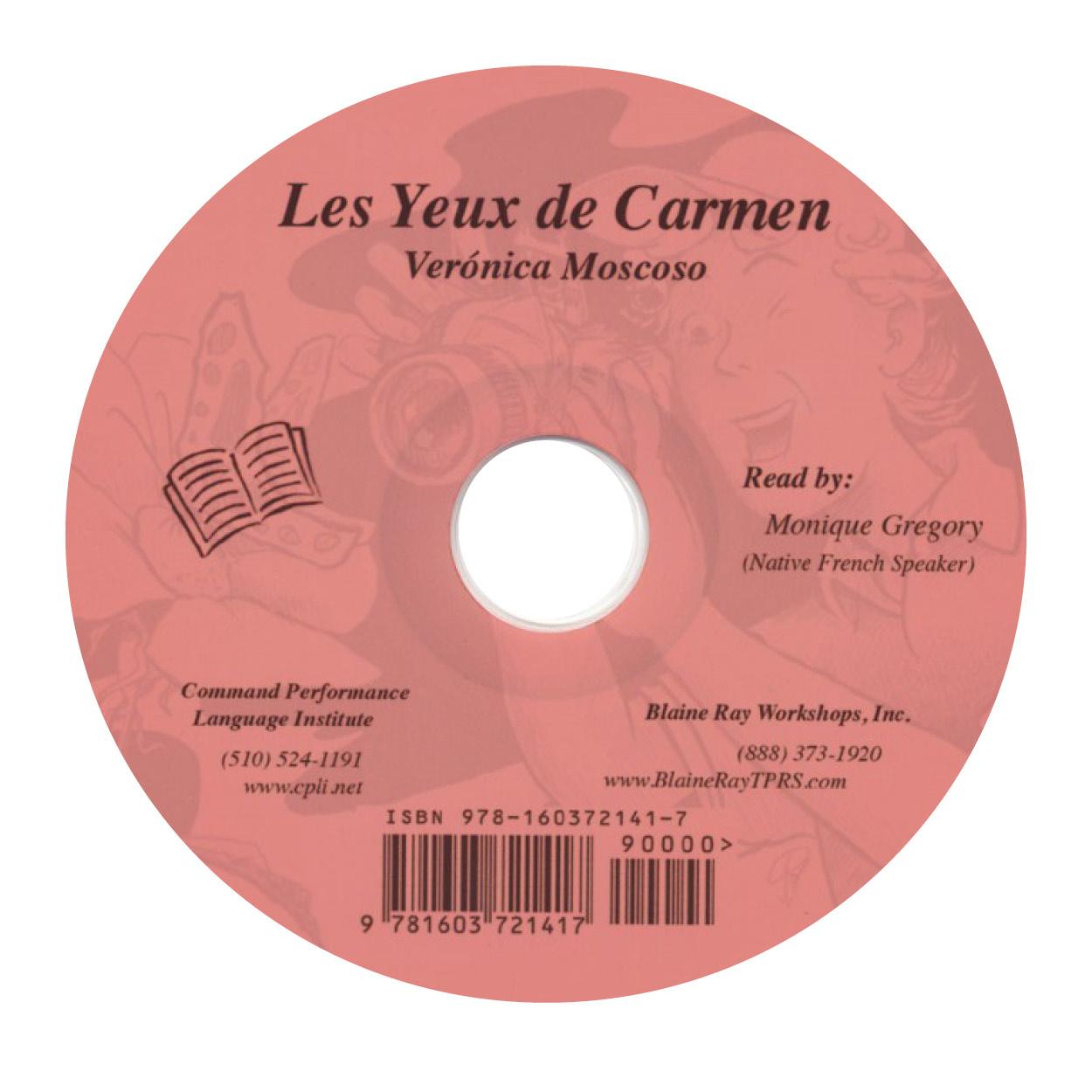Les yeux de Carmen - Luisterboek