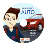 TPRS Books Mi propio auto - Teacher's Guide
