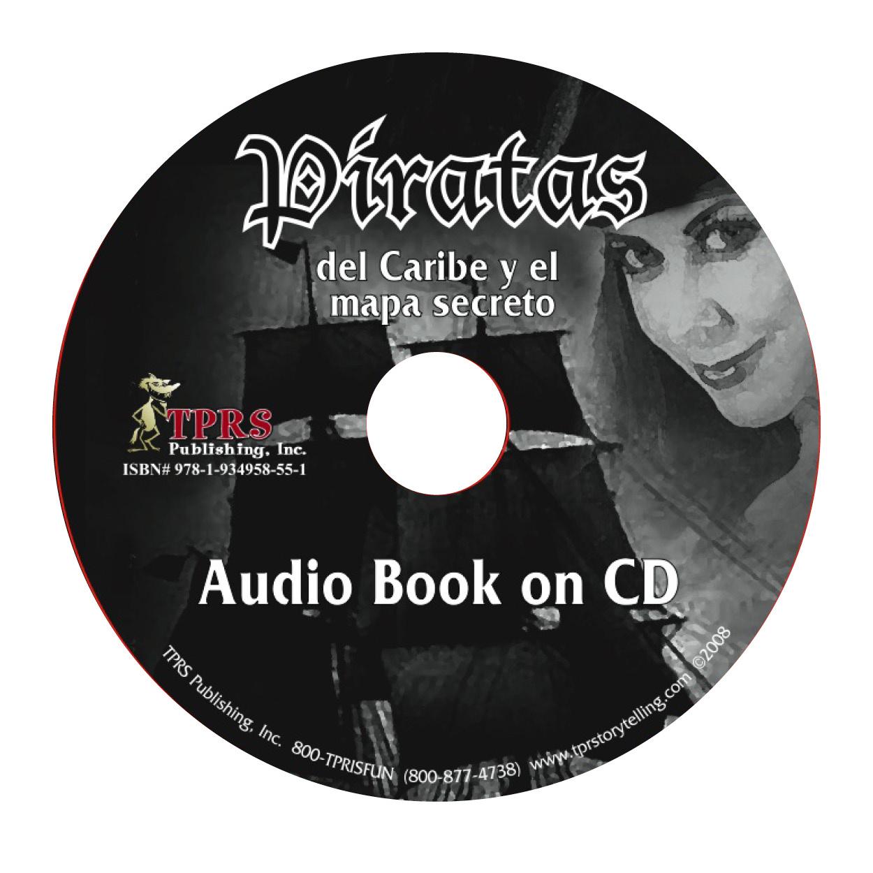 Piratas del Caribe y el mapa secreto - audio book