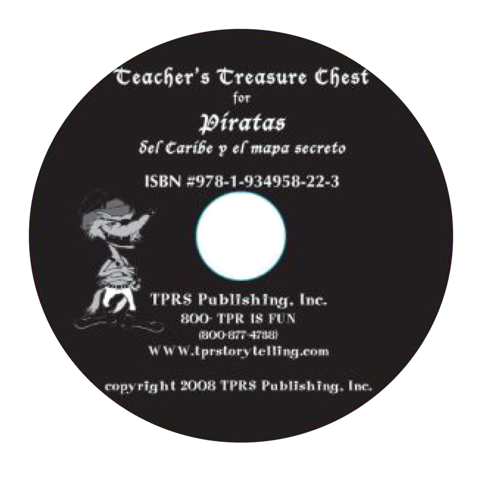 Fluency Matters Piratas del Caribe y el mapa secreto  - Teacher's Guide on CD