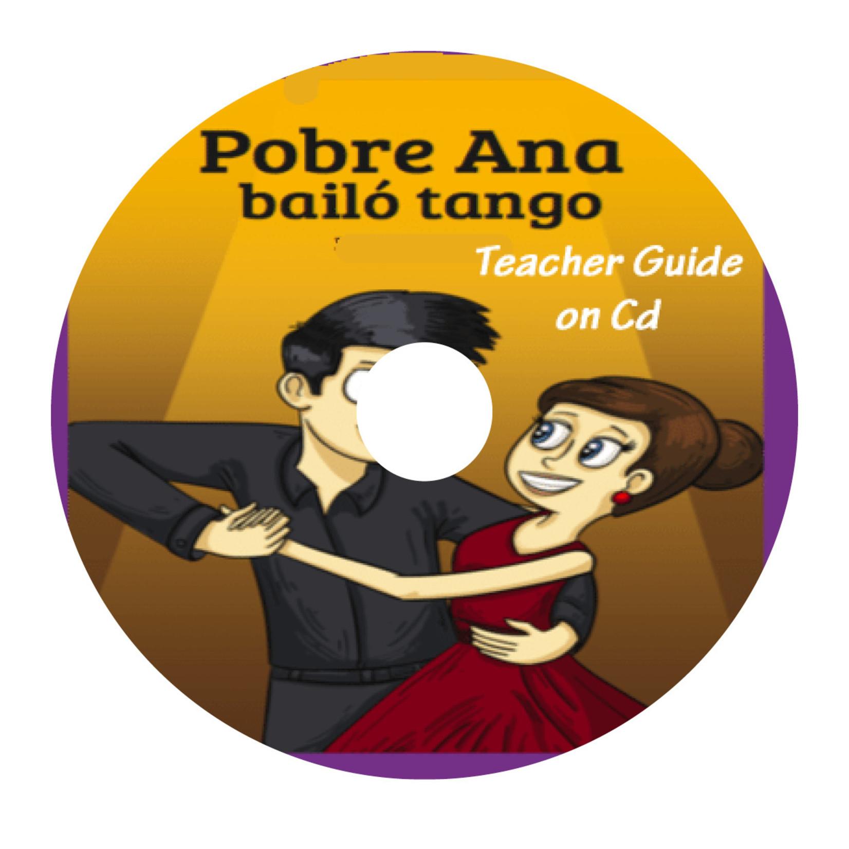 TPRS Books Pobre Ana bailó tango - Docentenhandleiding