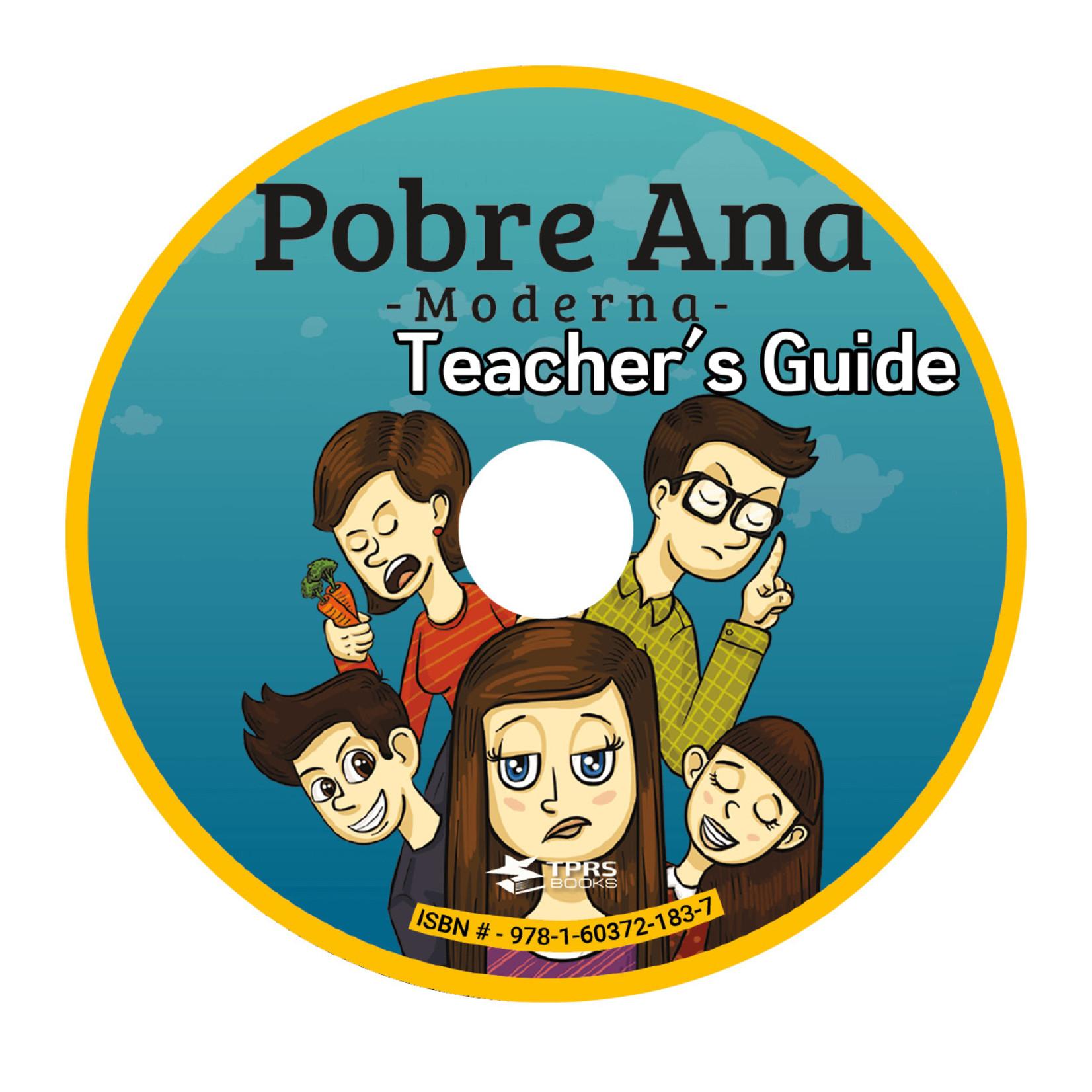 TPRS Books Pobre Ana Moderna - Teacher's Guide