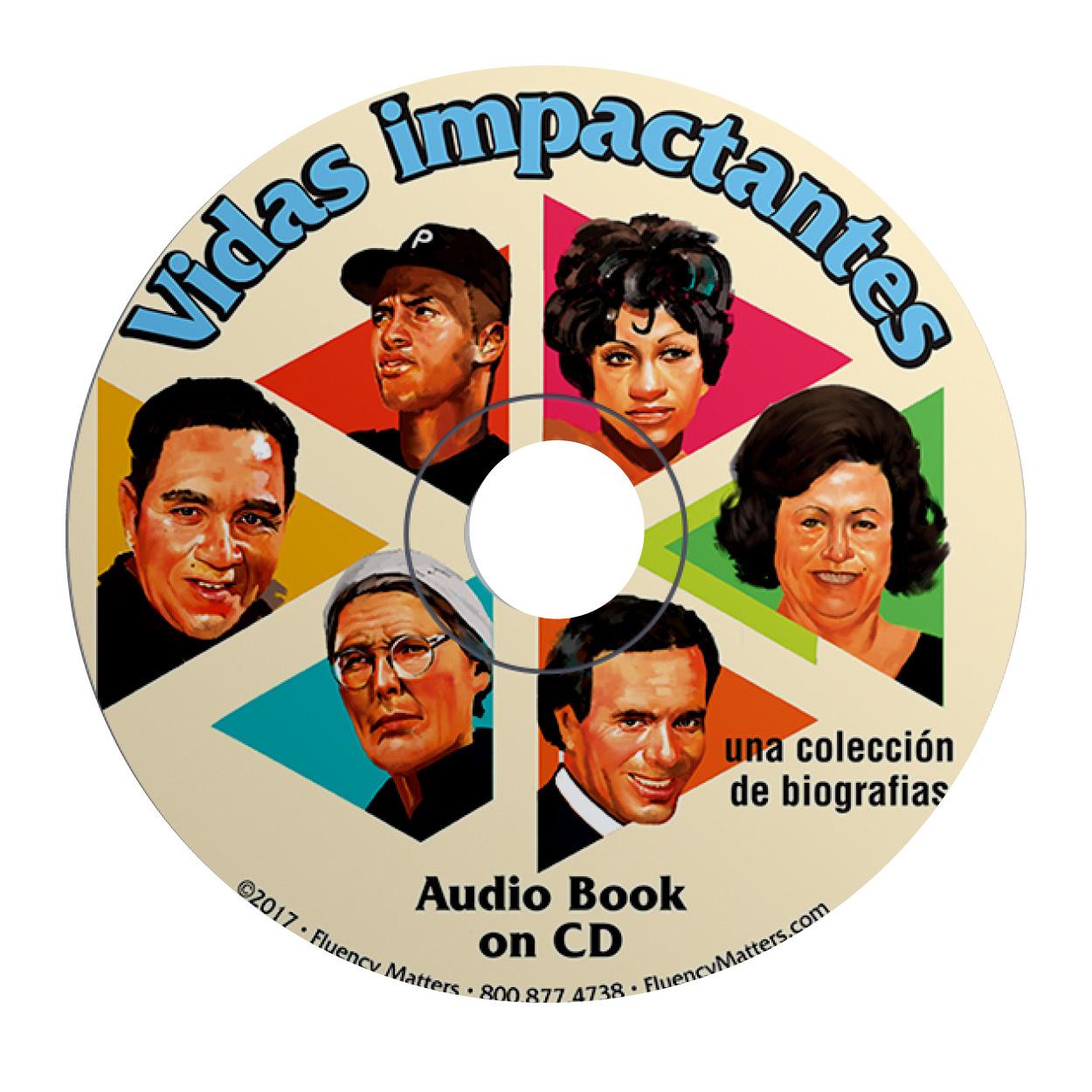 Vidas impactantes - Audiobook
