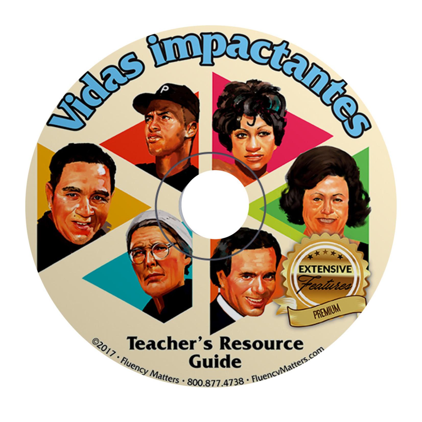 Fluency Matters Vidas impactantes - Teacher's Guide