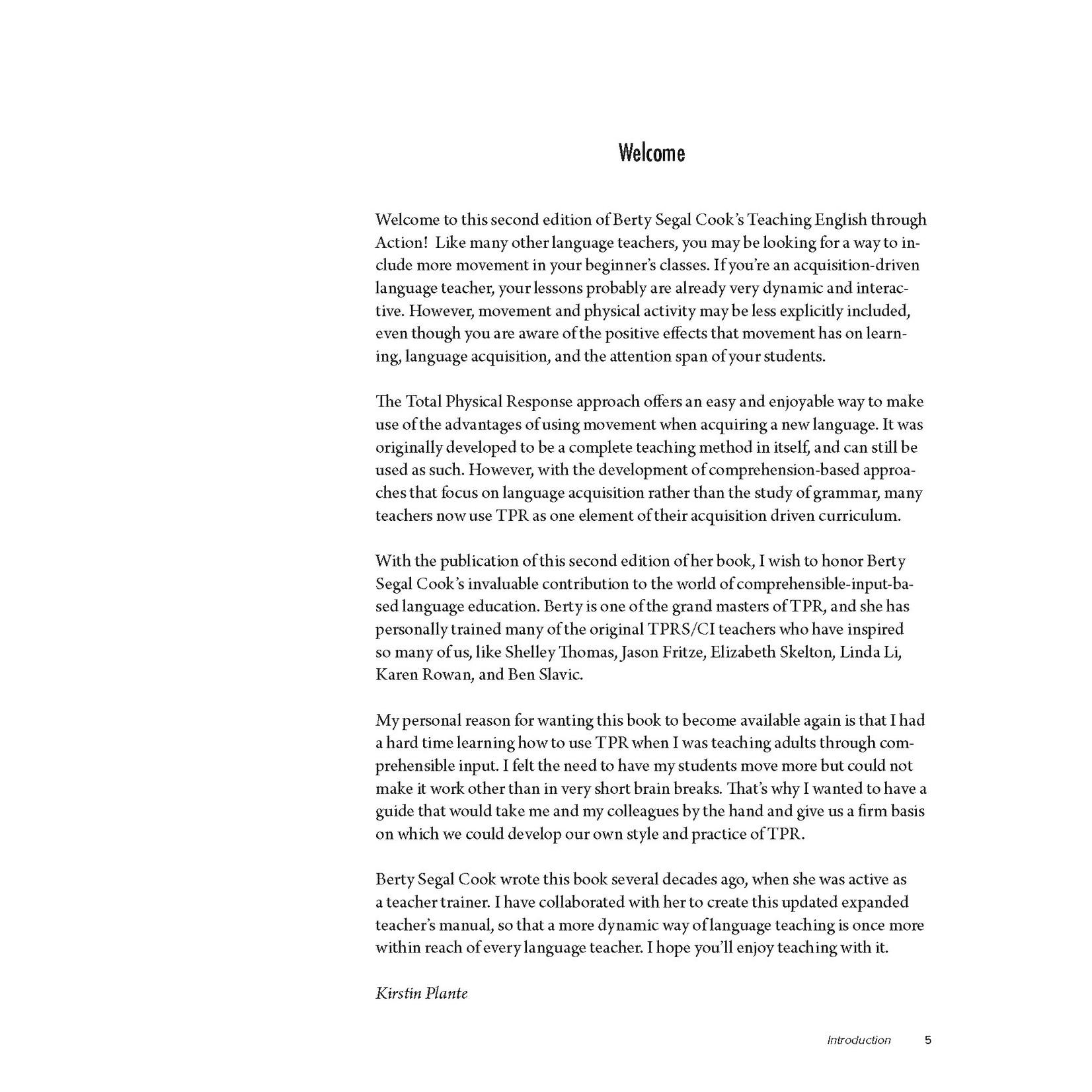 Arcos Publishers Teaching English through Action