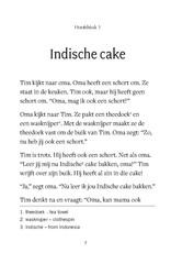Geen cake voor de baby
