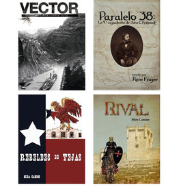 Discount set 4x Historical: Vector, Rival, Paralelo, Rebeldes